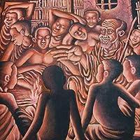 ティンガティンガ 長老の教え (M)サイズ ティンガティンガアート アフリカ雑貨 ポップアート