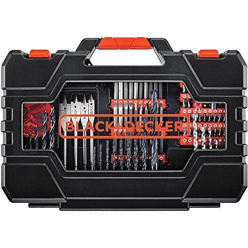 BLACK+DECKER Drill & Screwdriver Bit Set, 201-Piece (BDA90201)