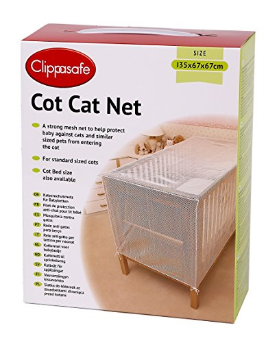 Clippasafe Baby Bett Katzennetz - 135cm x 67cm x 67cm