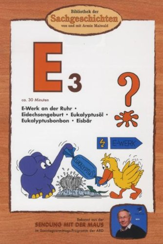 Bibliothek der Sachgeschichten - (E3) E-Werk an der Ruhr, Eidechsengeburt, Eukalyptusöl [Alemania] [DVD]