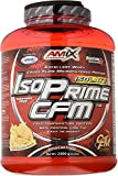 Amix - Proteína IsoPrime CFM Isolate, 90% Proteína, Rica en Aminoácidos y Glutamina, Favorece el Crecimiento Muscular, Baja en Grasas, Proteína en Polvo, 2 Kg, Sabor Doble Chocolate Blanco