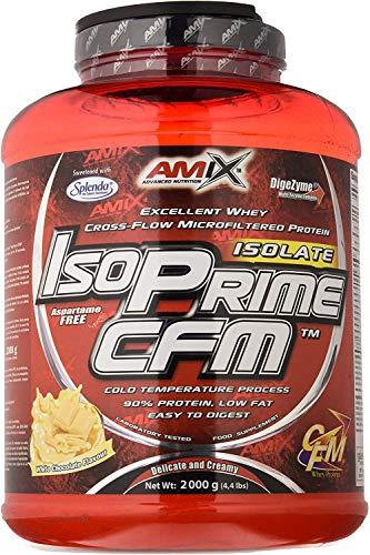 Amix Isoprime Cfm Isolate Doble-Chocolate Blanco 2000 g