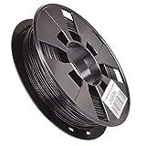 PLA 3D Printer Filament 1.75mm 200g 0.44 LBS)/ ROLL 3D Pinting Filament 3D Pen/Printer Filament Refills (Black)