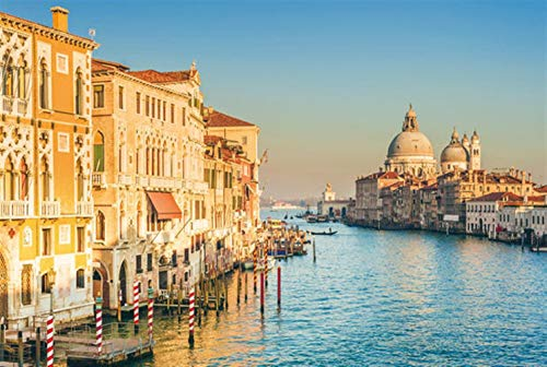 GEDTFC Impossible challenge Beautiful Scenery Venice Water City Puzzle 300/500/1000 Jigsaw Puzzle Wood Super Hard Decompression Adult High Difficulty Anime Puzzles (Color : H, Size : 1000PCS)
