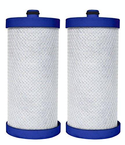 Dista - Refrigerator Water Filter Compatible with WF1CB WFCB, RF100, RG100, NGRG2000, RF-100, RG-100, NGRG-2000 Frigidaire Puresource & Kenmore 46-9906, 469906, 9906, 46-9910, 469910, 9910.