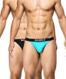 BASIICS by La Intimo Men's Prime Thong Underwear (Pack of 2)