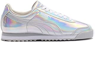 PUMA Roma IRI PS Silver/White/Glacier Gray Youth