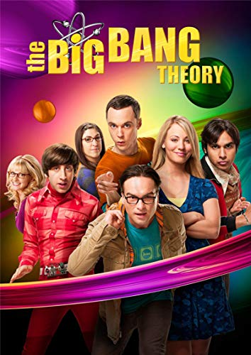 lubenwei The Big Bang Theory Poster Movie Wall Stickers White Coated Prints High Definition Clear Picture Home Decoration 40x60cm No frame AT-3772