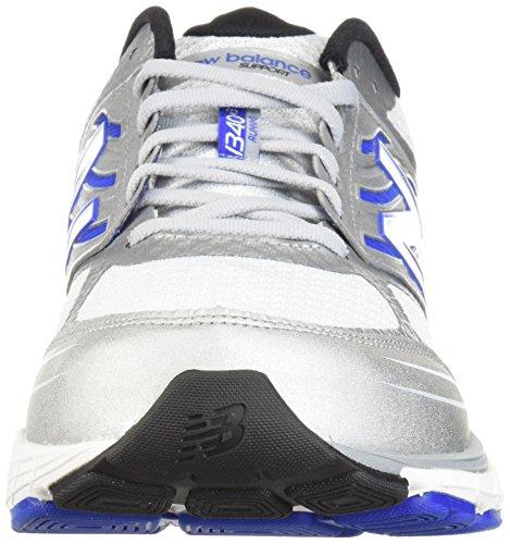 New Balance Chaussures M1340 pour Hommes, 47 EUR - Width 6E, White/Blue