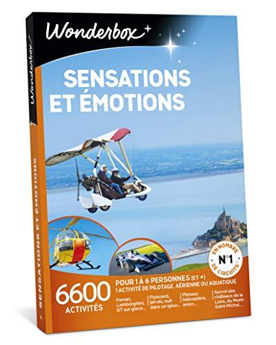 Coffret Wonderbox Sensations et émotions