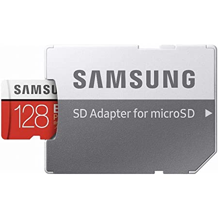 SAMSUNG MicroSDXC 128GB with SD Adapter for MicroSD