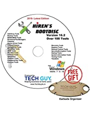 Hirens Boot CD 16.2 Tool to Fix & Repair All PC Problems 2018- Latest Edition - Printed DVD Label