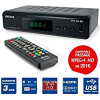 decodeur TDT Grabador reproductor multimedia TV tele Television peritel HDMI USB