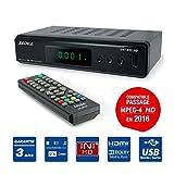DECODEUR TNT ENREGISTREUR Lecteur Multimedia TV Tele Television PERITEL HDMI USB