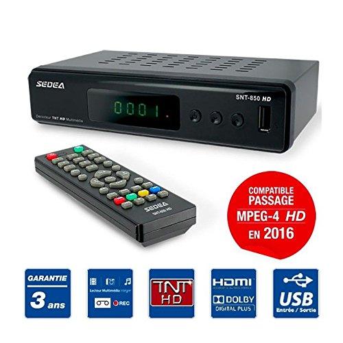 Sedea Decoder TNT registratore lettore multimediale TV Scart HDMI USB