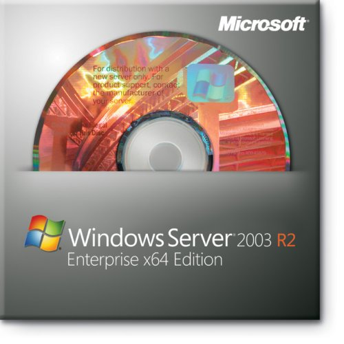 Microsoft Windows Server 2003 Standard R2 Edition, 64 Bit, 1-4 CPU, 5 CAL, SP2, Englisch