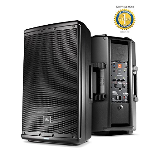 JBL EON612 1,000W, 12' 2-way Multipurpose Self-powered PA Speaker with Microfiber and Free EverythingMusic 1 Year Extended Warranty
