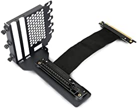 Phanteks PH-VGPUKT_02 – Universal Vertical GPU Bracket with 220mm Flat Line Pci-E X16 Riser Cable Kit