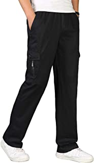 comprar comparacion Pantalones para Hombre,Tallas Grandes Suelto Pantalones Casuales Moda Trabajo Pantalones Jogging Pants Fitness Pantalones ...