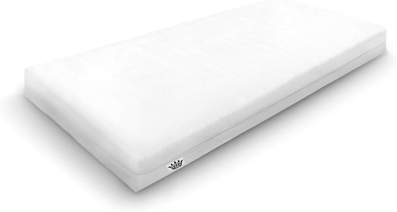 Schlafschatz Wellness Stella 7-Zonen Schaum-Matratze mittel 80 x200 cm - Hhe 19 cm