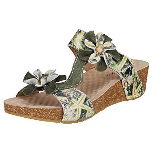 sandales - nu pieds laura vita 1737 bingo vert 38