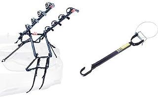 Allen Sports Premier 4-Bike Trunk Rack and Allen Sports Tension Bar Bicycle Cross-Bar Adaptor Bundle