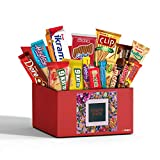Poseidon Foreign Snacks Box, European Chocolates, Candy, Cookies, 15 Count Variety International Snacks, Turkish Snacks Box, Foreign Candy Gift Box, Healthy Snack Box from Around the World by Simay. 1.7 lb.