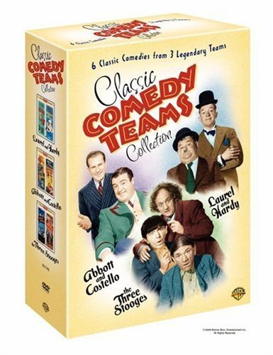 Classic Comedy Teams Collection (Laurel & Hardy: Air Raid Wardens, Nothing But Trouble; Abbott & Costello: Abbott & Costello in