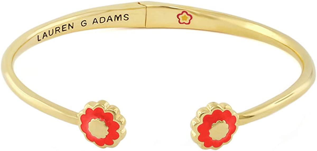 Lauren G. Adams Open Arms Flower Bangle - Small