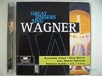 Great Singers Sing Wagner/Kipnis, Hotter, Schorr/U.a./A.m.o.