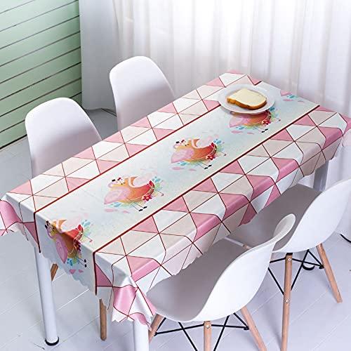 sans_marque Mantel, mantel lavable, mantel de comedor, mantel moderno, decoración de mesa de cocina, 40 x 60 cm