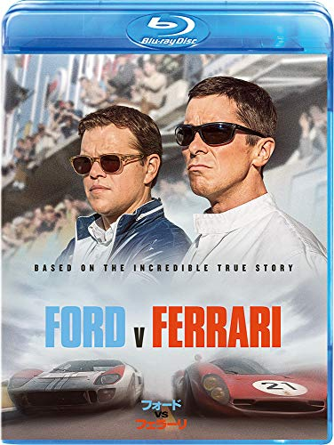 フォードvsフェラーリ [AmazonDVDコレクション] [Blu-ray]