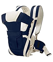 HOLME'S Adjustable Hands-Free 4-In-1/baby Carry Bags/Baby sefty Belt/Kid Carry Bag/Baby Sling/Back Baby Carrier/Front Carrier for babykids Carrier Belt/Buckle Straps (Blue),HOLME'S