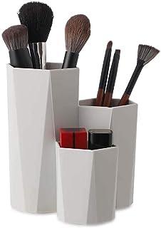 Monico Makeup Brush Storage Desk Pen Pot Pencil Holder Stand Multi Purpose Use Office Supplies Organizer Caddy Makeup Brus...