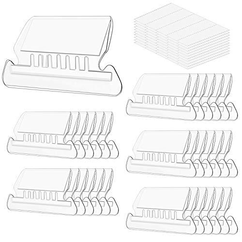 File Folder Tabs, Paxcoo 50 Sets Hanging File Folder Labels Tabs and Inserts for Hanging Folders