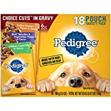 PEDIGREE CHOICE CUTS in Gravy Adult Wet Dog Food Variety Pack, (36)...