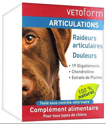 Dazont Vetoform Articulations Complément Alimentaire Chiens 100 g