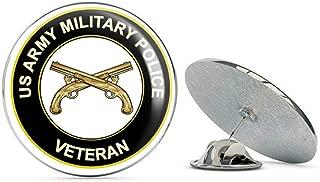 U.S. Army Veteran Military Police Metal 0.75