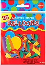Assorted Shapes Latex Balloons | Pack of 25 | Party Decor
