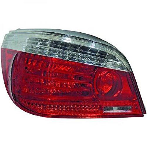 In.pro. 1224995 hD de 2 feux arrière led pour bMW e60 modèles à partir de 2003 (rouge-large blanc/transparent