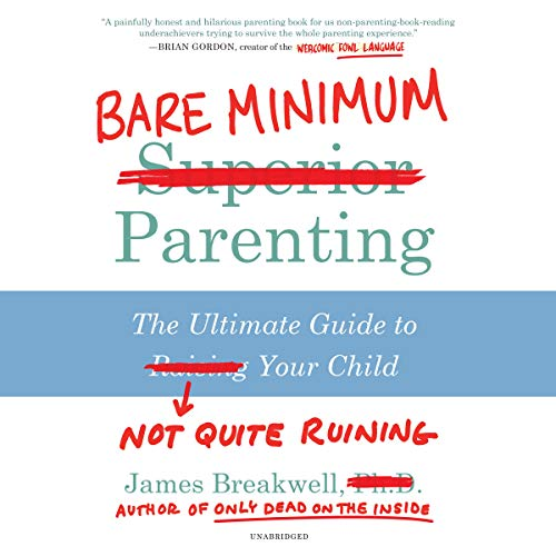 Bare Minimum Parenting audiobook cover art