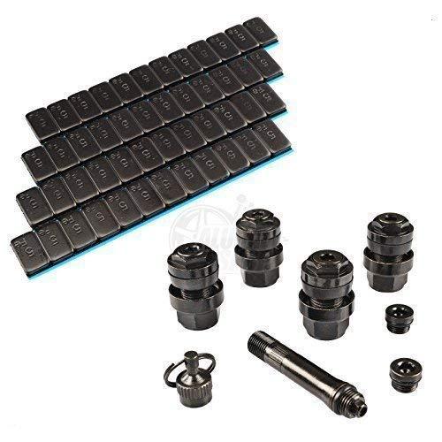 Reifenventil versteckt Reifenventile Set Hofmann Power Weight Reifenventil Einsatz Auto Metallventil Autoventil