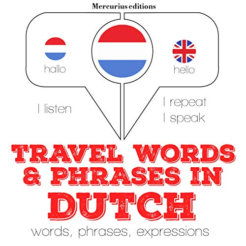 Travel words and phrases in Dutch  By  cover art