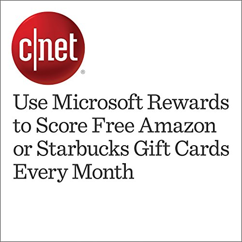 Use Microsoft Rewards to Score Free Amazon or Starbucks Gift Cards Every Month audiobook cover art