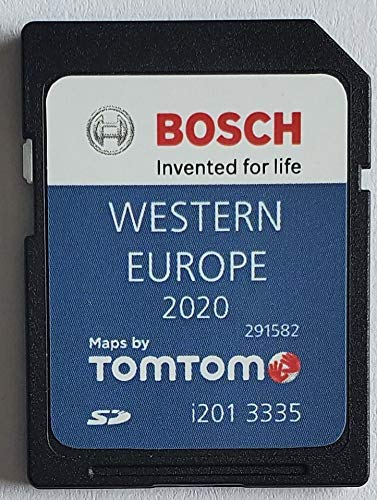 SD Karte VW GPS West Europe 2020 V12 - RNS 310