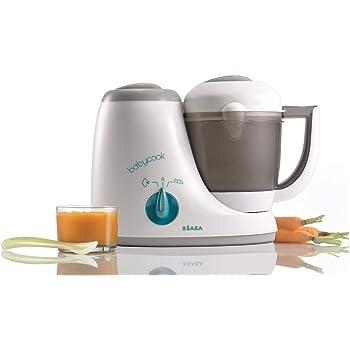 Calienta Comida Lictin Robot de Cocina Beb/é- 4 en 1 Procesador de Alimentos Bebes con Bandeja de Hielo del Oso y Bandeja de calentamiento de botellas Esterilizador Batidora y Descongelar