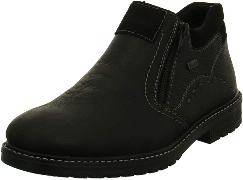 Rieker B5392-00 Men's Black Winter Boots