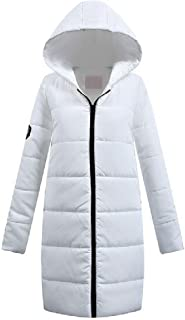 Howely Women's Coat Padded Autumn Mid-Long Thin Hood Parka Coat