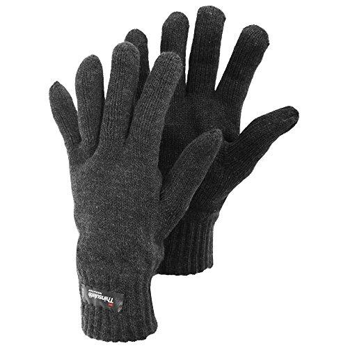 Gants tricotés thermiques Thinsulate - Homme (L/XL) (Gris)