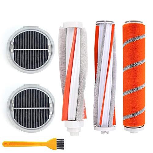 Style wei Accesorios para Aspiradora Roller Cepillo Suave de Fibra de Carbono Brush ácaros Brush Filtro de HEPA for XIAOMI ROIDMI F8 F8E NEX Next2 Zero Pro M8 Aspirador (Color : T)